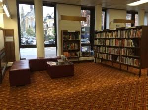 Cari tempat nyaman untuk membaca