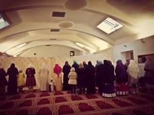 Suasana Sholat Ied Adha di Al-Furqaan Mosque, Carrington Street