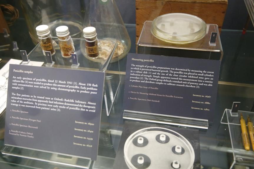 Penicillin, salah satu penemuan fenomenal yang menjadi titik awal berkembangnya Antibiotik