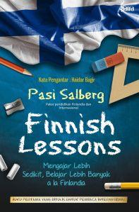 Cover depan Finnish Lessons karya Pasi Sahlberg