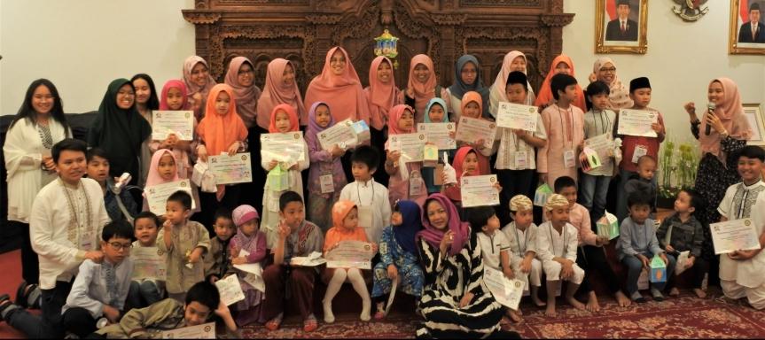 Antusias Anak-Anak WNI di Korea Ikut Pesantren Kilat Ramadan 1440H
