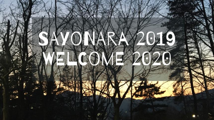 Sayonara 2019